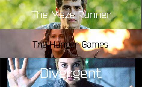 films like maze runner hunger games the maze runner the hunger games divergent youtube