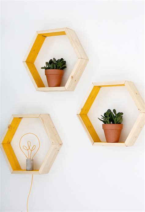 16 functional and stylish hexagon shelves you need to see