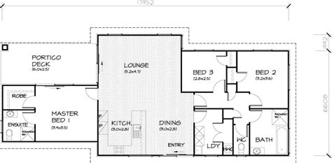 open plan house 3 bedroom transportable homes floor plans