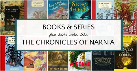 chronicles of narnia series author magical books like narnia for