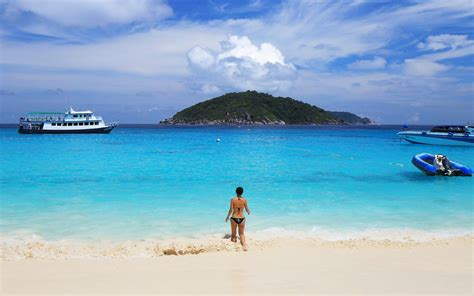 Thailand Scuba Diving In Similan Tropical Islands Andaman