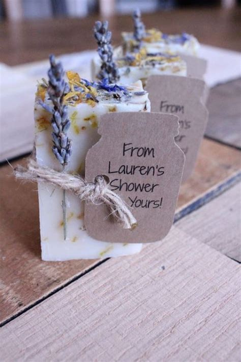Handmade Favors - 25 inexpensive yet handmade bridal shower favors