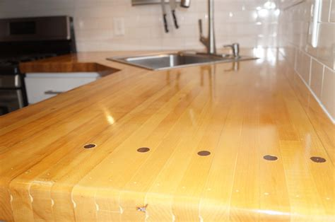 Bowling Countertop by Kitchen Countertops Project Showcase Wood Talk