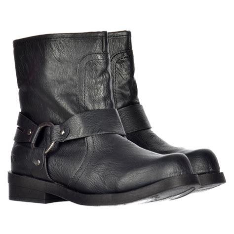 boot straps rocket ankle biker boot straps porter black