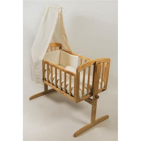 Swinging Crib With Mattress by Stockholm Swinging Crib With Mattress Accessories