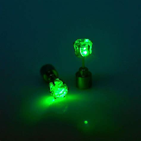wholesale light wholesale light up led light earrings in stud earrings