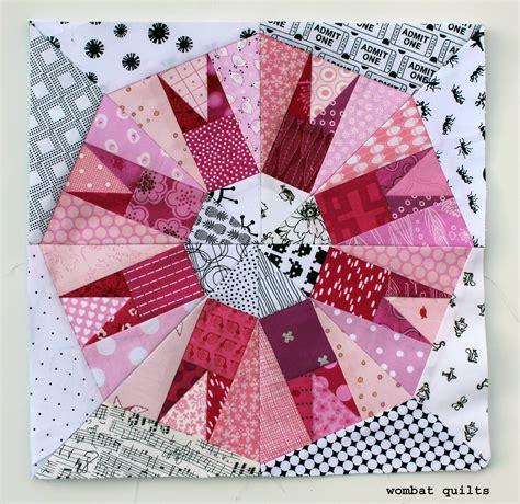 Piecing Patchwork Patterns - cactus snowball block