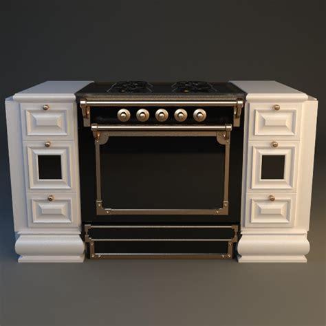 kitchen appliance electric stove 3d model cgtrader com gourmet stove 2 3d model max obj 3ds fbx mtl cgtrader com