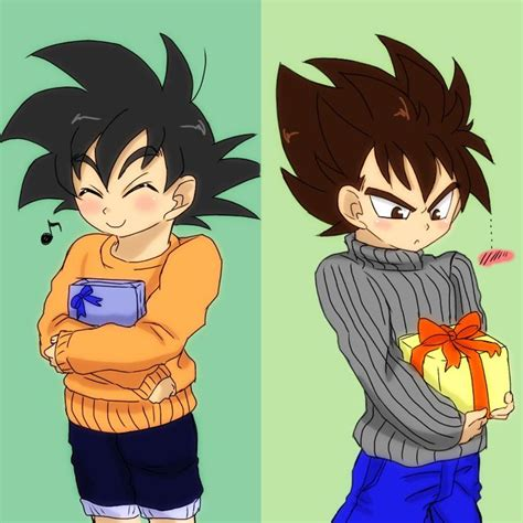 despacito goku aww cute kid goku and vegeta vegeta and goku rivals