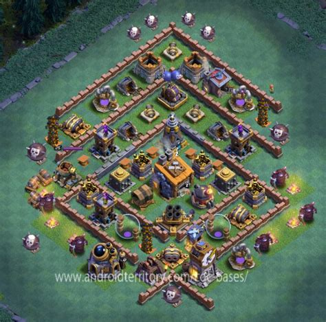 coc layout star 10 defensive bh8 best base layouts new anti super p