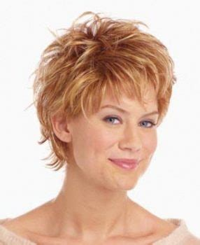 stylish and elegant short hairstyle for women over 60