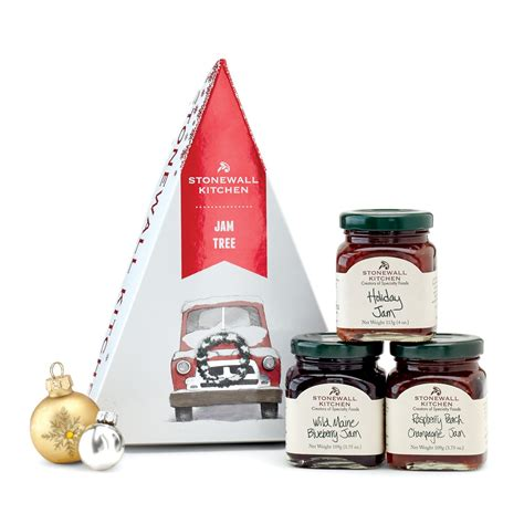 christmas food gift set stonewall kitchen jam tree besto