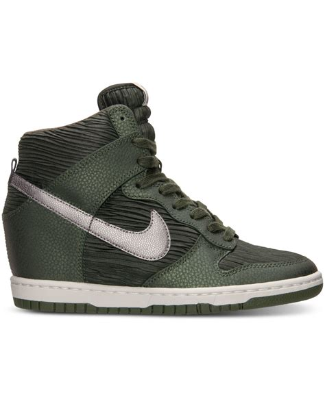 nike dunk sneakers nike s dunk sky hi casual sneakers from finish line