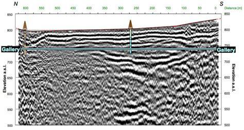 seismic section hybrid seismic surveying geoexpert