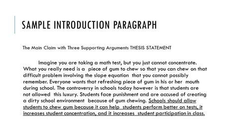 pro argument essay