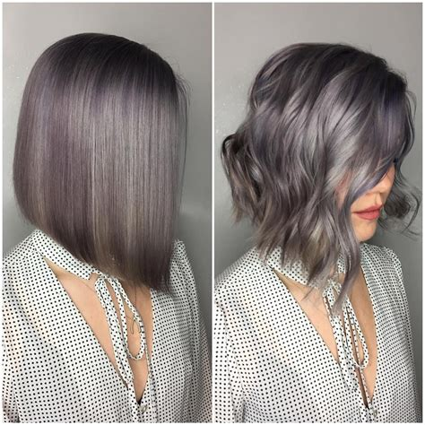 bob hairstyles wavy grey hair 38 super cute ways to curl your bob popular haircuts for