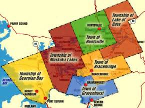 muskoka canada map muskoka part 2
