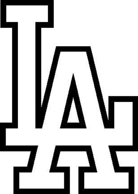 la kings logo free coloring pages