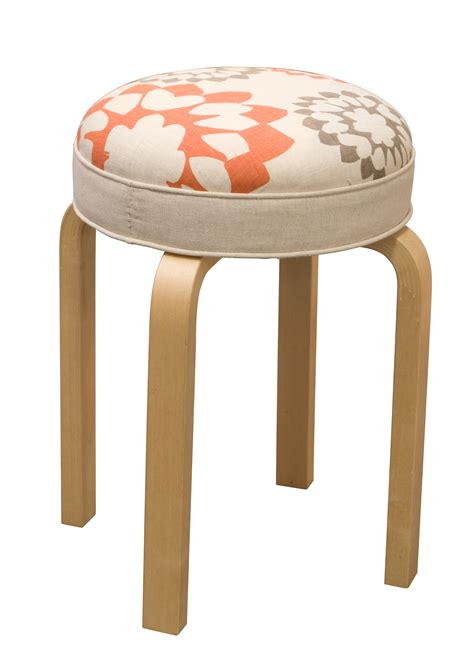 Stool What To Do by Furniture Stool Carousel Linen Judy Ross Textiles