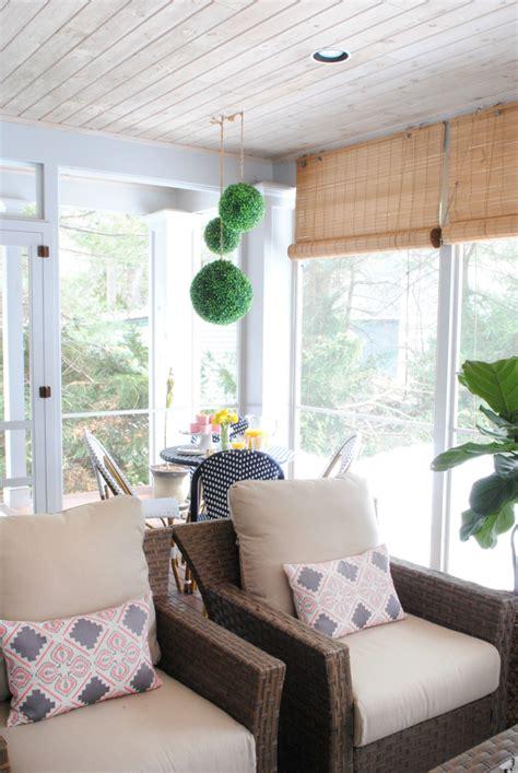Small Screen Porch Furniture Ideas at Home Interior Designing