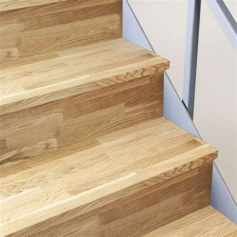 oak stair treads solid oak timber stair cladding 995mm staircase tread