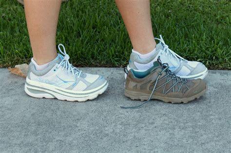 trail running vs road running shoes hoka one one bondi b review running with sugars
