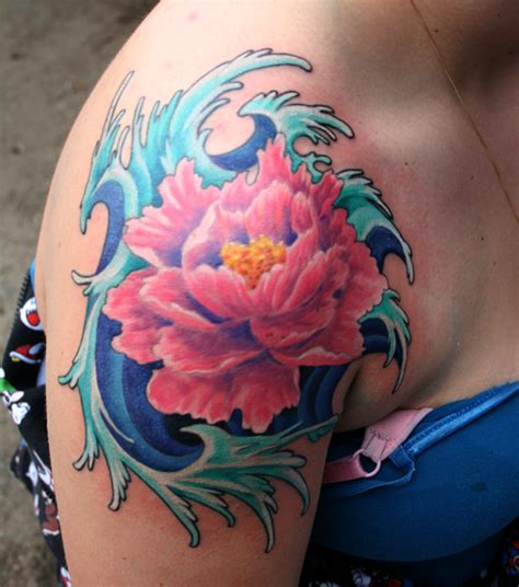 tattoo flower asian flower tattoo japanese