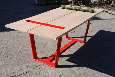 Red Dining Room Table handmade dining room tables hunting handmade