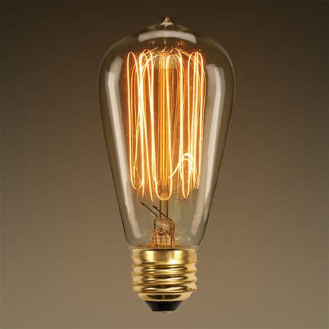 antique light bulb marconi filament 60 watt