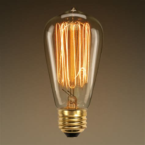 Filament Light Bulb Fixtures Antique Light Bulb Marconi Filament 60 Watt
