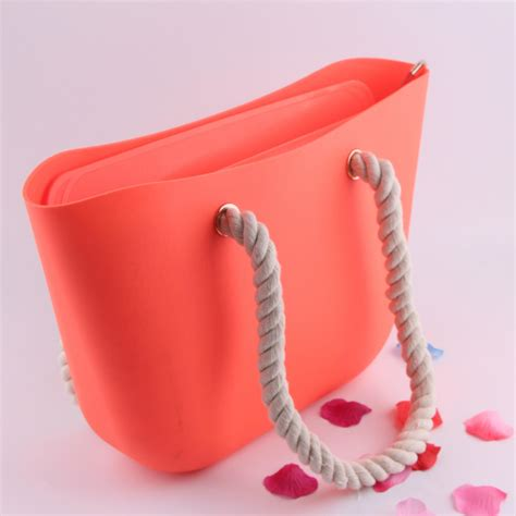 Jelly Bag In Redwine silicone bags silicone tote bag for silicone handbag sc16004 china