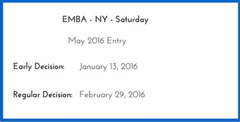 Columbia Mba Deadline 2016 by 2016 Emba Application Columbia Business School