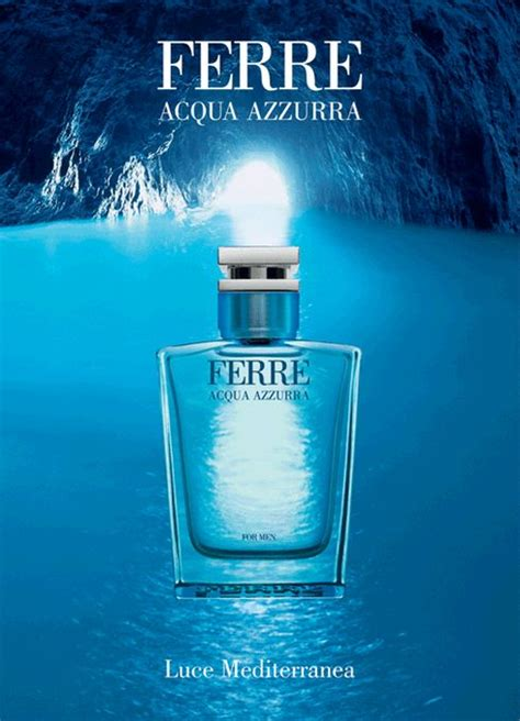 Gianfranco Ferre Aqua Azzura Edt acqua azzurra gianfranco ferre cologne a fragrance for
