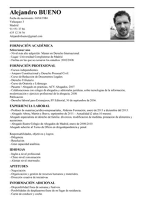 Plantilla Curriculum Para Abogado Modelo De Curr 237 Culum V 237 Tae Abogado Abogado Cv Plantilla Livecareer