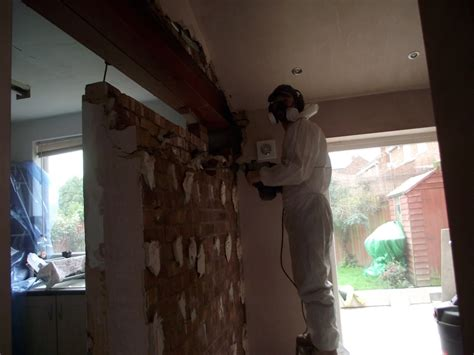 Removing Brick Kitchen Wall by Open Plan Living Structural Steel Works Wall Removal