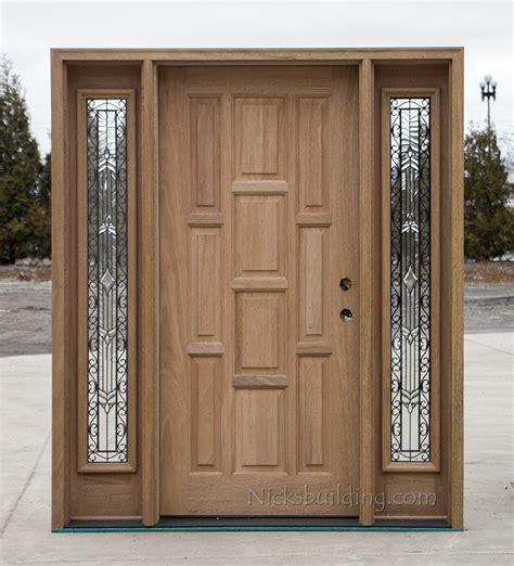 Solid Mahogany Exterior Doors Exterior Solid Mahogany Doors Cl 667
