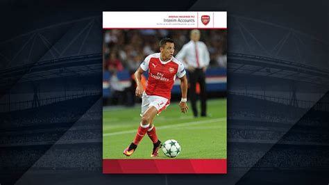 arsenal holdings plc club announces latest financial results news arsenal com
