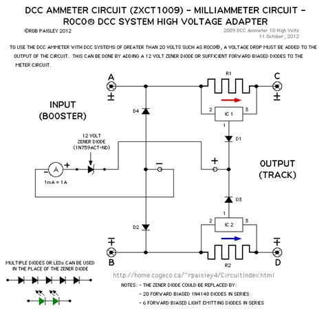 DCC ammeter   Basic Circuit   Circuit Diagram   SeekIC.com
