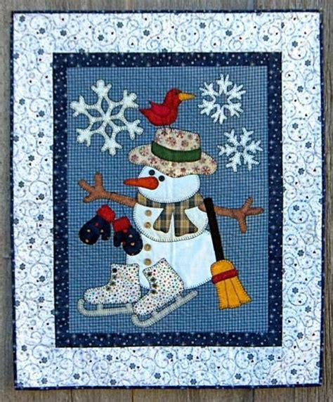 Best Quilt For Winter by 17 Best Ideas About Snowman Quilt On Winter