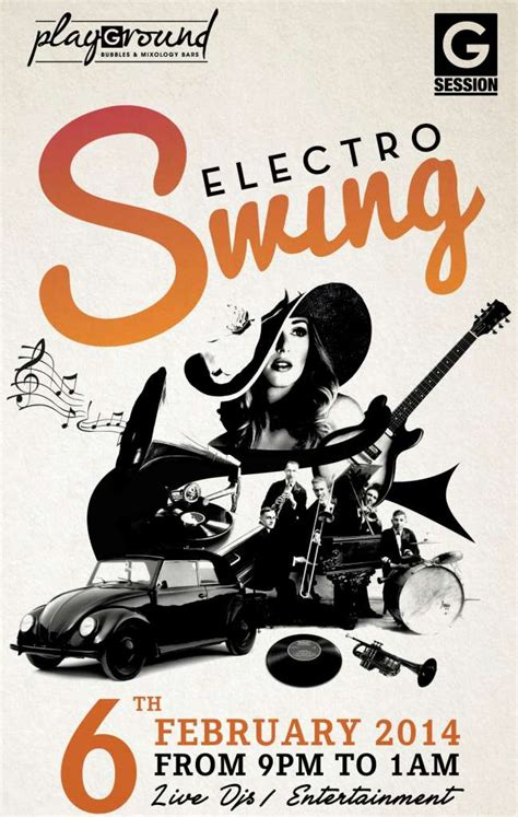 the art of electro swing g session party electro swing pullman bangkok