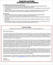 Entry Level Human Resources Cover Letter by Sle Human Resources Cover Letter 7 Exles In Word Pdf