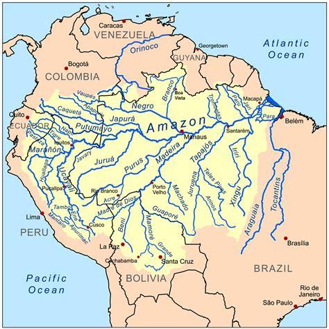 Amazon Basin | file amazonriverbasin basemap png wikipedia