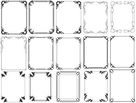photoshop shapes frames  photoshop shapes