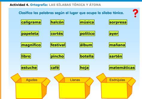 la palabra especial es aguda grave esdrujula o tesoros ortogr 225 ficos tipos de palabras grave aguda
