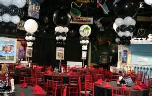 Hollywood theme bat bar mitzvah sweet 16 party mazelmoments