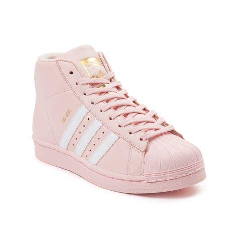 tween adidas pro model athletic shoe pink