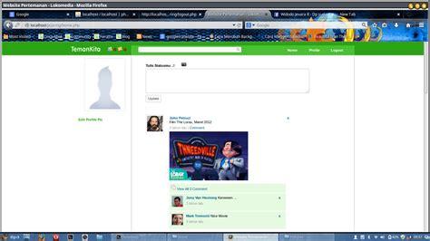 membuat web pertemanan dengan php membuat website pertemanan menggunakan php dan jquery