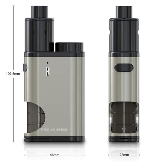 Eleaf Pico Squeeze Bottle Spare Parts outbreaking vape eleaf pico squeeze with coral rda starter kit with a best price is here