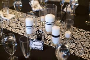 black and white wedding centerpieces with in the wedding cup
