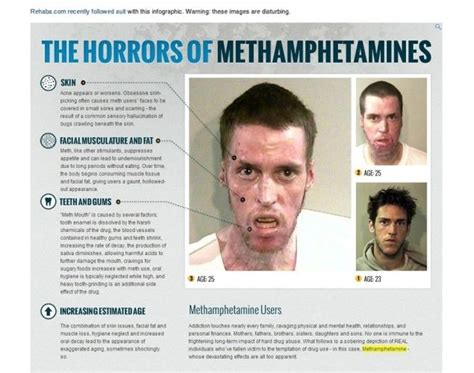How To Increase Detox Rate Meth by An Infographic By Rehabs Shows The Terrible Toll Meth